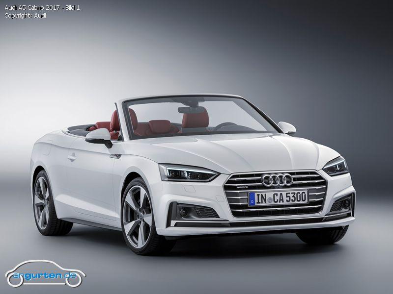 Foto Audi A5 Cabrio 2017 Bild 1 Bilder Audi S5 Cabrio