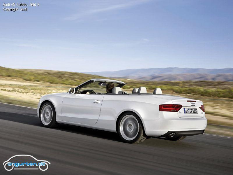 Foto Audi A5 Cabrio Bild 2 Bilder Audi A5 Cabrio