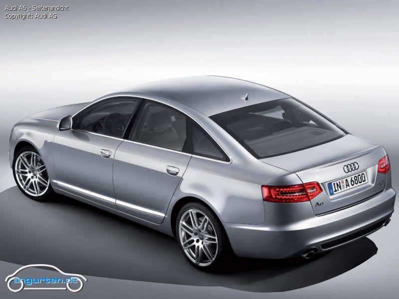 Foto Audi A6 Seitenansicht Bilder Audi A6 2008