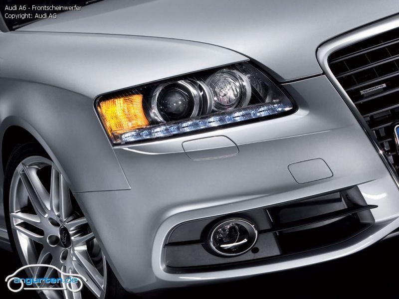 Foto Audi A6 Frontscheinwerfer Bilder Audi A6 2008