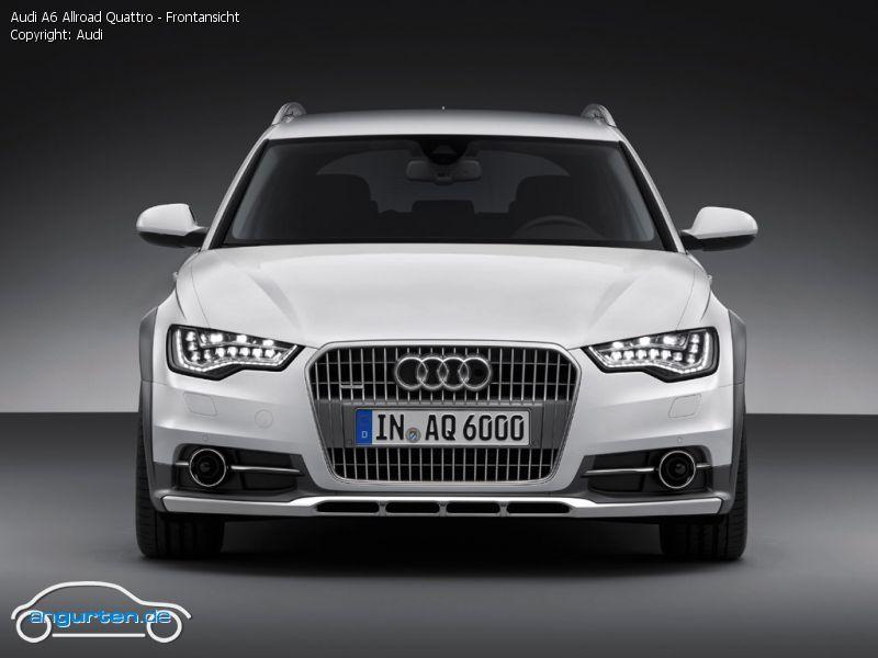 Foto Audi A6 Allroad Quattro Frontansicht Bilder Audi