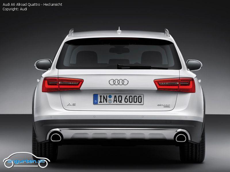 Foto Audi A6 Allroad Quattro Heckansicht Bilder Audi
