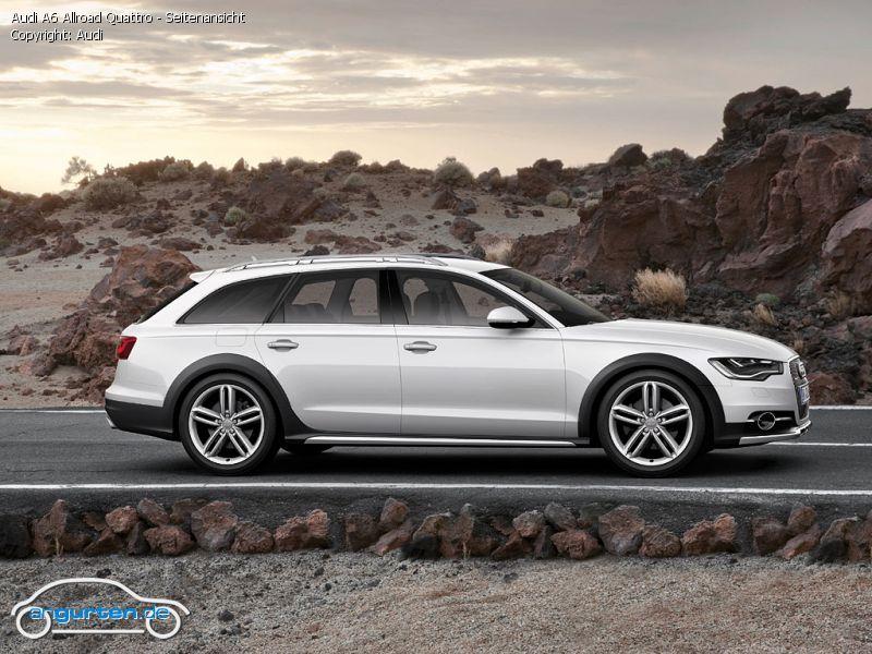 Foto Audi A6 Allroad Quattro Seitenansicht Bilder Audi
