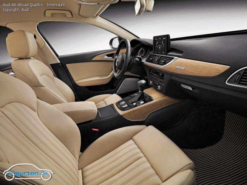 Foto Audi A6 Allroad Quattro Innenraum Bilder Audi A6