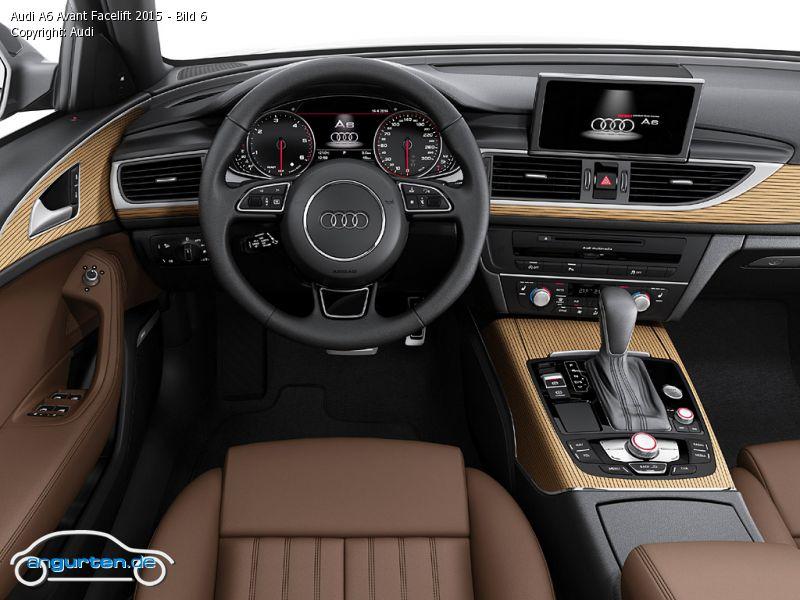 Foto Audi A6 Avant Facelift 2015 Bild 6 Bilder Audi A6