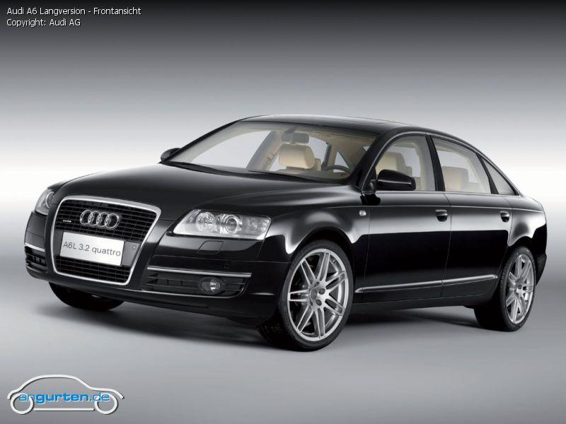 Foto Audi A6 Langversion Frontansicht Bilder Audi A6