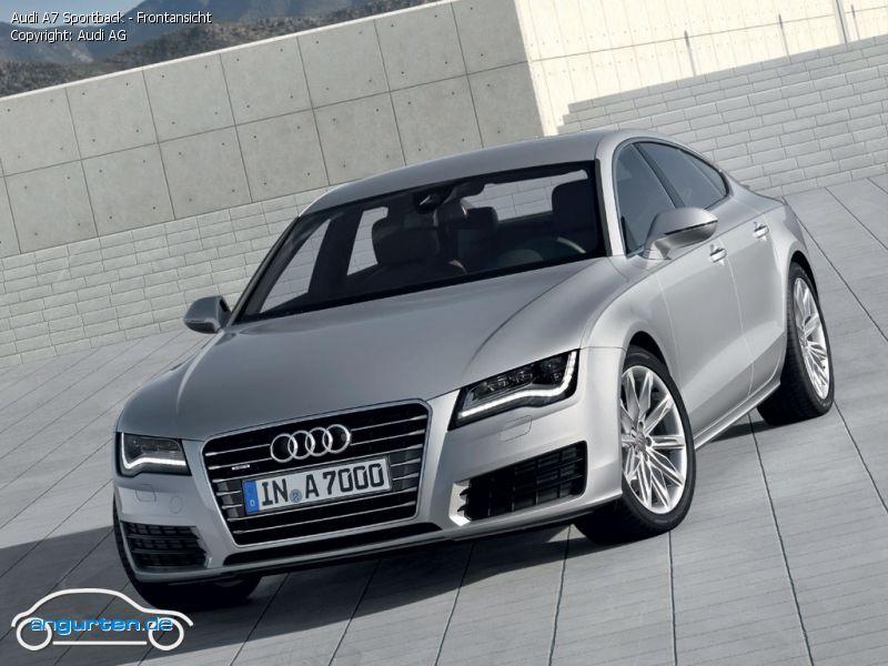 Foto (Bild): Audi A7 Sportback - Frontansicht (angurten.de)