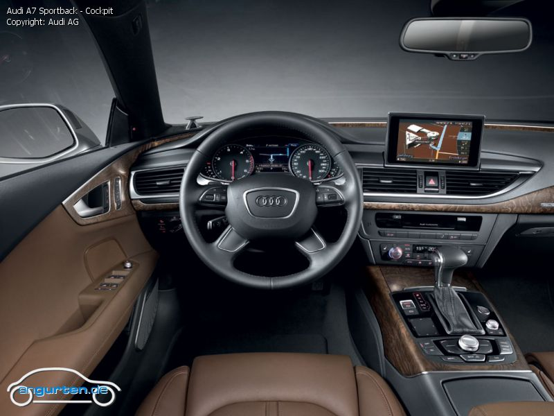 Foto Audi A7 Sportback Cockpit Bilder Audi A7