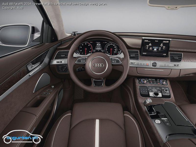 Foto Audi A8 Facelift 2014 Innen Hat Sich Zun 228 Chst Mal