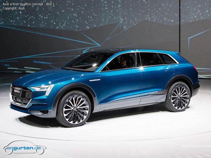 Foto Bild Audi E Tron Quattro Concept Bild 1