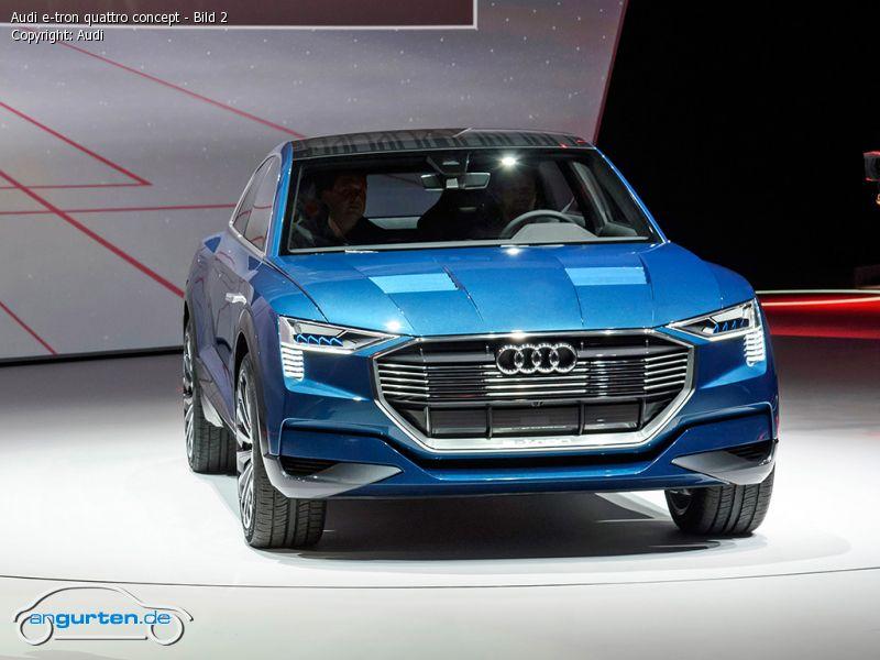 Foto Audi E Tron Quattro Concept Bild 2 Bilder Audi E