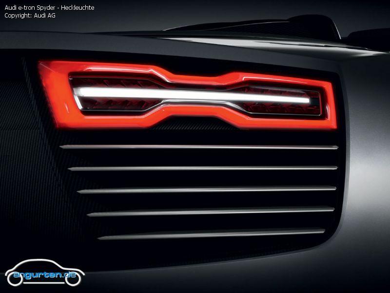 Foto Audi E Tron Spyder Heckleuchte Bilder Audi E Tron