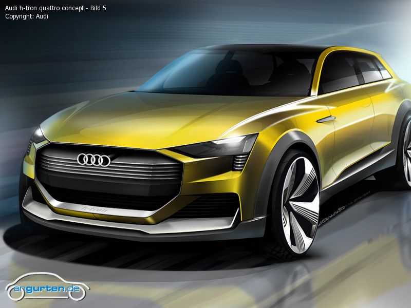 Foto (Bild): Audi H-tron Quattro Concept