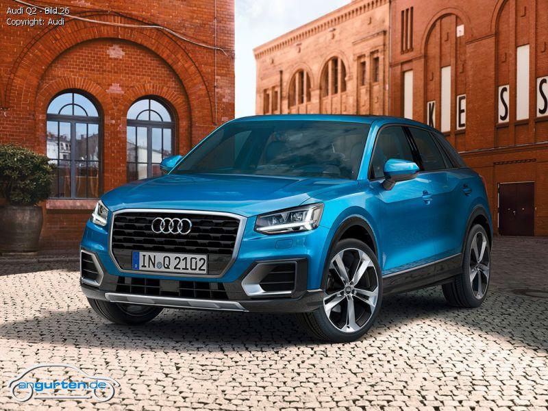 erstklassige Qualität modischer Stil Online kaufen Audi Q2 Arablau Kristalleffekt - Farben