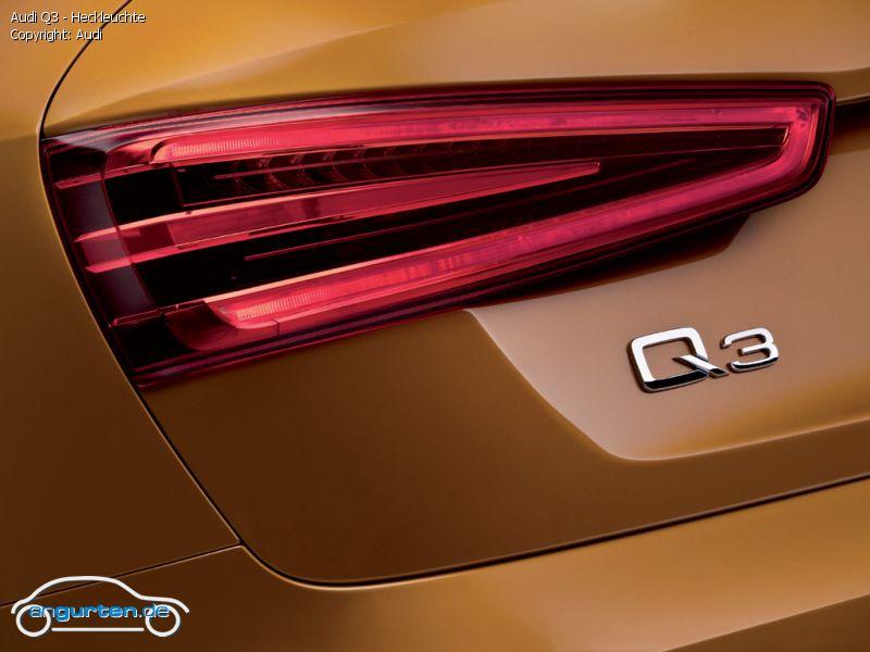 Foto Audi Q3 Heckleuchte Bilder Audi Q3 Bildgalerie