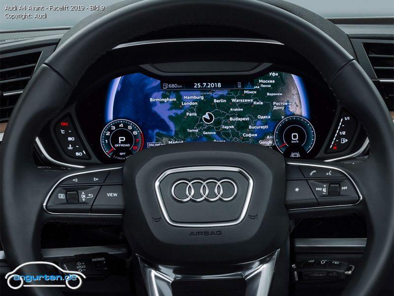 Foto Bild Audi A4 Avant Facelift 2019 Bild 9