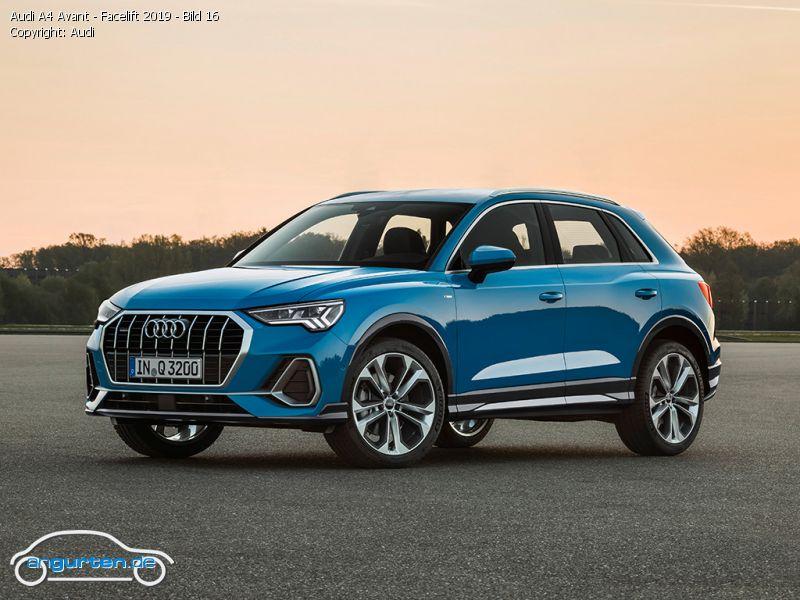 Audi A1 Sportback 2019 Turboblau Uni Farben