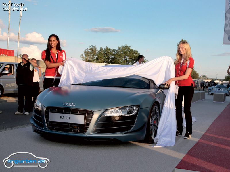 foto r8 gt spyder bilder audi r8 gt spyder bildgalerie bild 1. Black Bedroom Furniture Sets. Home Design Ideas