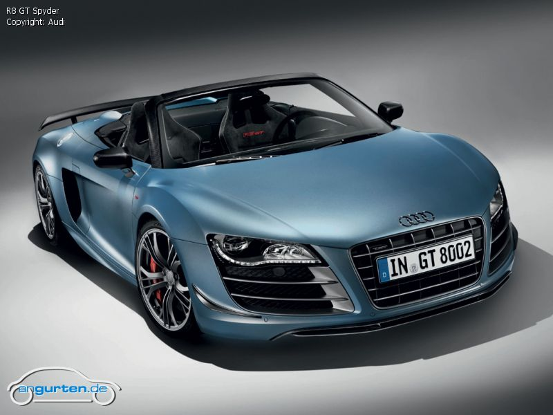 audi r8 gt spyder fotos bilder. Black Bedroom Furniture Sets. Home Design Ideas