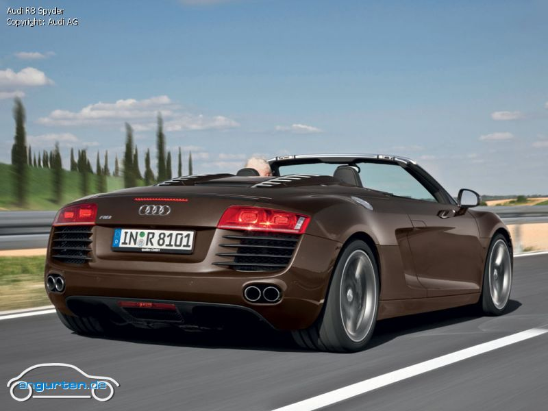 audi r8 spyder fotos bilder. Black Bedroom Furniture Sets. Home Design Ideas
