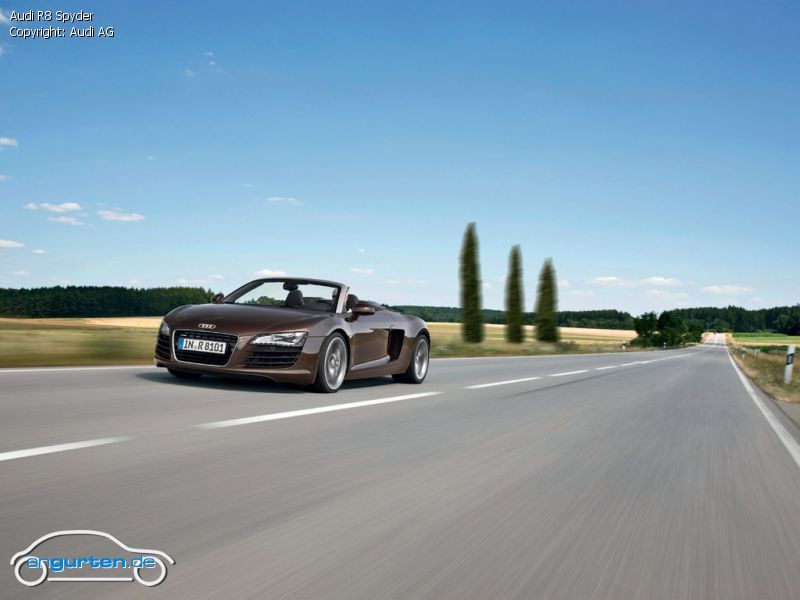 foto audi r8 spyder bilder audi r8 spyder bildgalerie bild 4. Black Bedroom Furniture Sets. Home Design Ideas