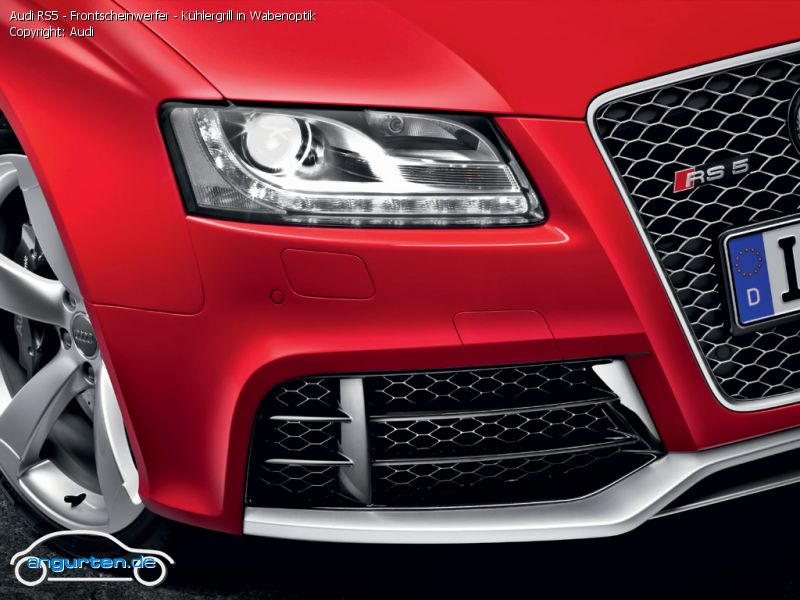 Foto Audi Rs5 Frontscheinwerfer K 252 Hlergrill In