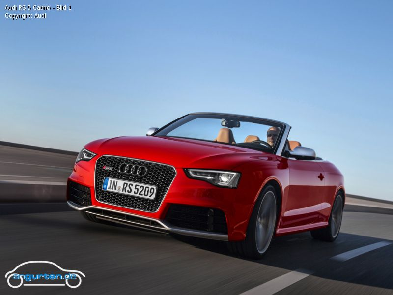 Foto Audi Rs 5 Cabrio Bild 1 Bilder Audi Rs 5 Cabrio