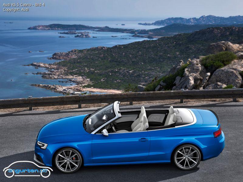 Foto Audi Rs 5 Cabrio Bild 4 Bilder Audi Rs 5 Cabrio