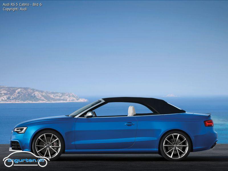 Foto Audi Rs 5 Cabrio Bild 6 Bilder Audi Rs 5 Cabrio
