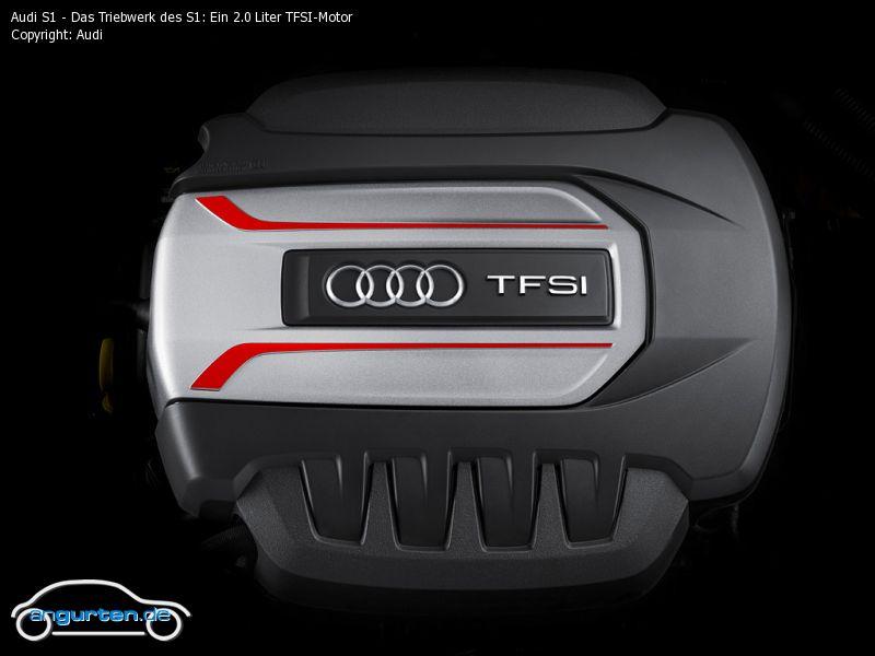 Foto Audi S1 Das Triebwerk Des S1 Ein 2 0 Liter Tfsi