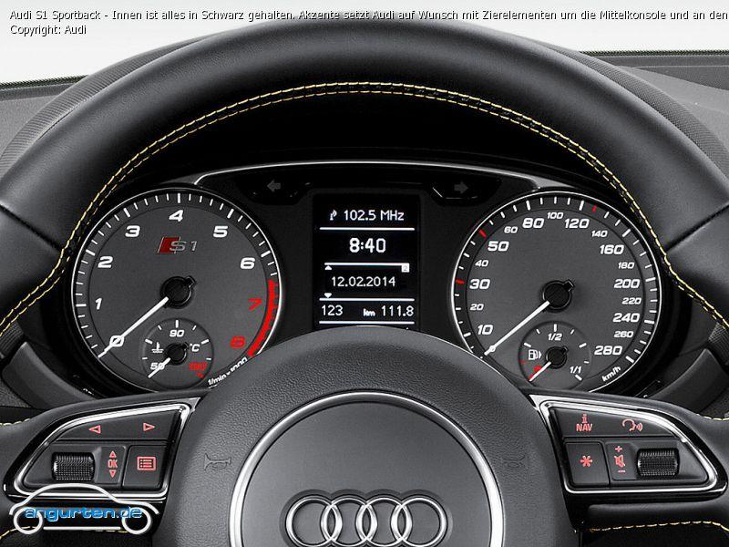Foto Audi S1 Sportback Innen Ist Alles In Schwarz