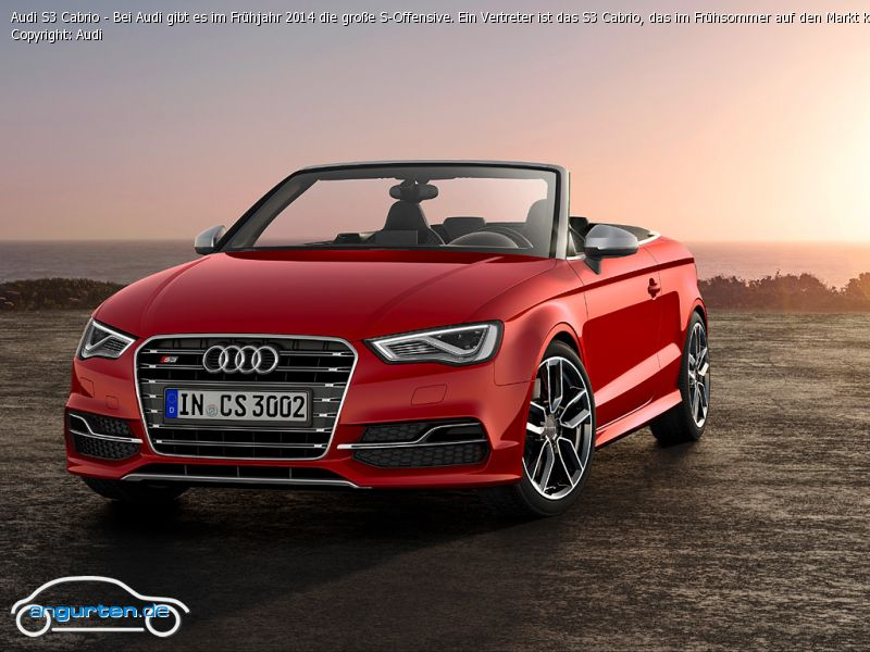 audi s3 cabrio fotos bilder. Black Bedroom Furniture Sets. Home Design Ideas