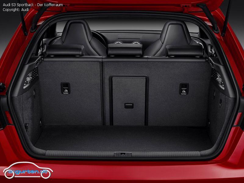 Foto (Bild): Audi S3 Sportback - Der Kofferraum (angurten.de)