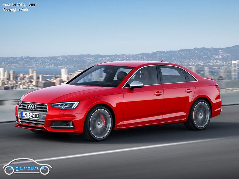 Foto Audi S4 2016 Bild 1 Bilder Audi S4 Bildgalerie