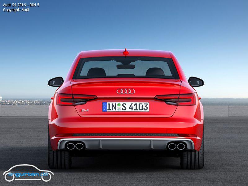 Foto Audi S4 2016 Bild 5 Bilder Audi S4 Bildgalerie