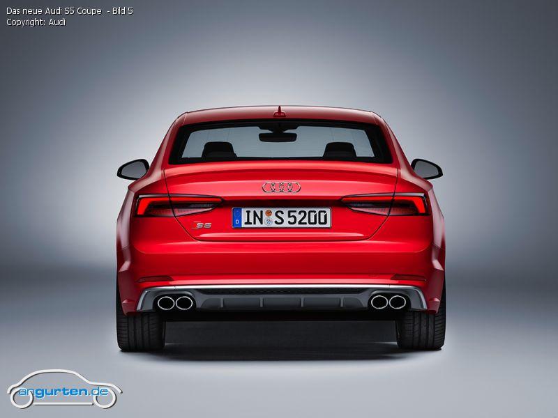 Foto Das Neue Audi S5 Coupe Bild 5 Bilder Audi S5
