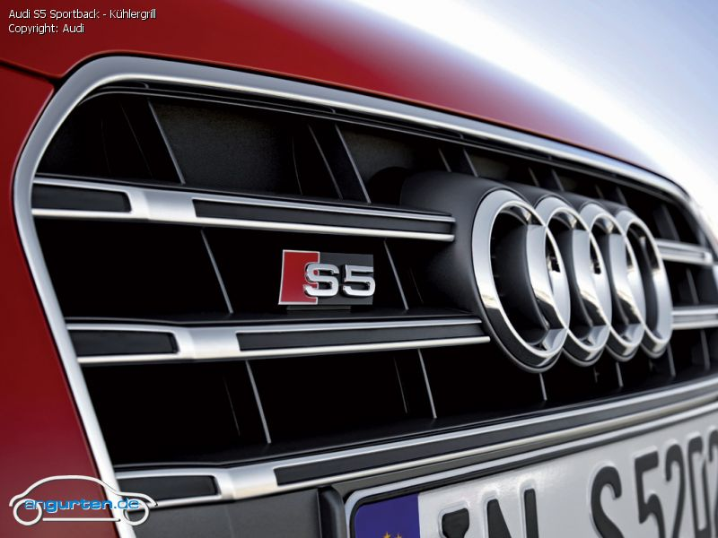 Foto Audi S5 Sportback K 252 Hlergrill Bilder Audi S5