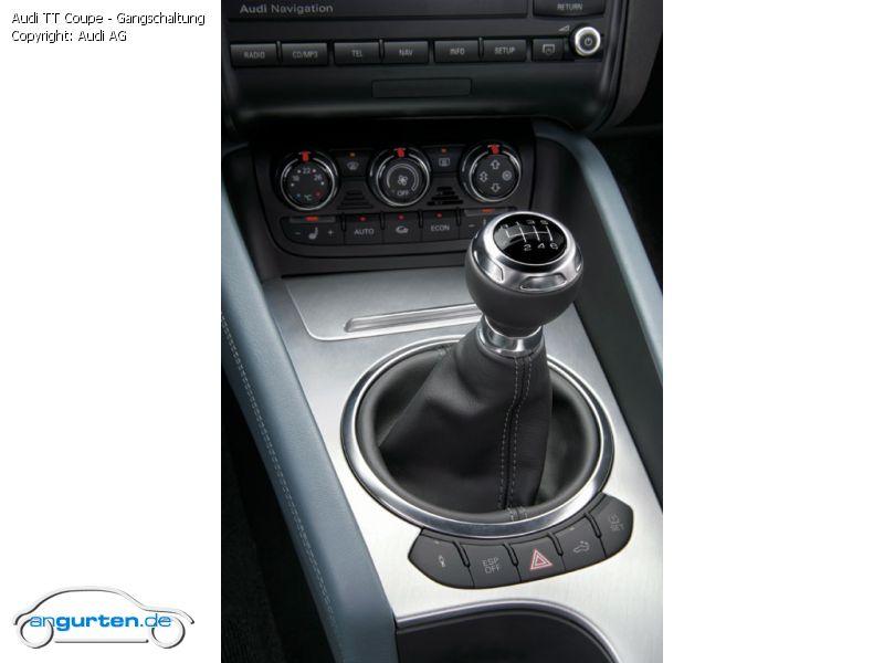 Foto Audi Tt Coupe Gangschaltung Bilder Audi Tt Coupe