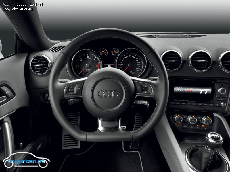 foto bild audi tt coupe lenkrad. Black Bedroom Furniture Sets. Home Design Ideas