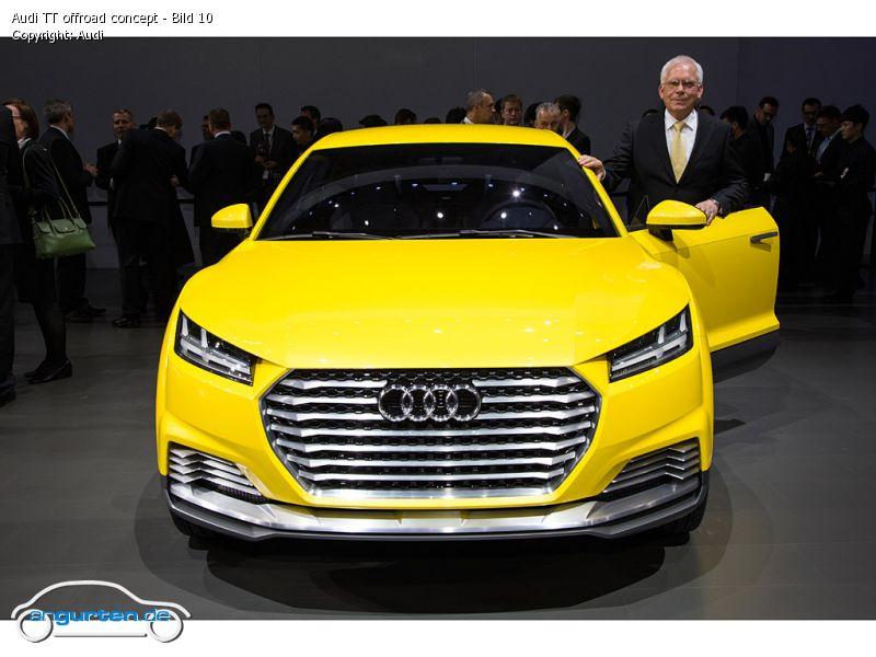 Foto Audi Tt Offroad Concept Bild 10 Bilder Audi Tt