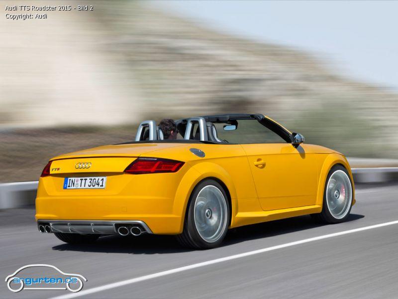 Foto Audi Tts Roadster 2015 Bild 2 Bilder Audi Tts