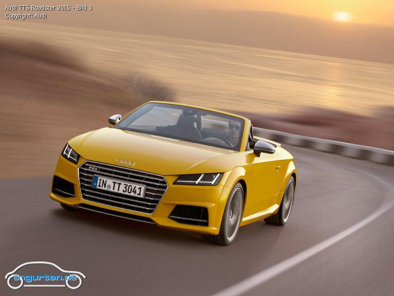 Foto Audi Tts Roadster 2015 Bild 3 Bilder Audi Tts
