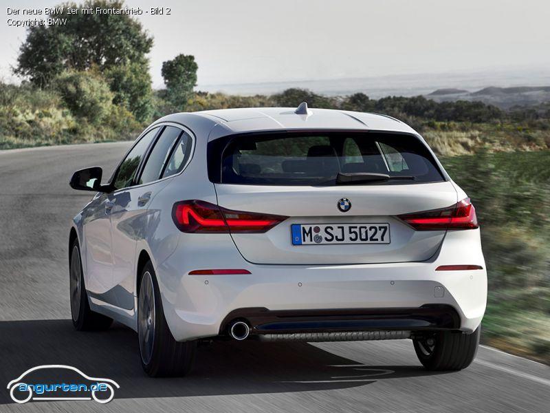 Foto (Bild): Der neue BMW 1er mit Frontantrieb - Bild 2 ...