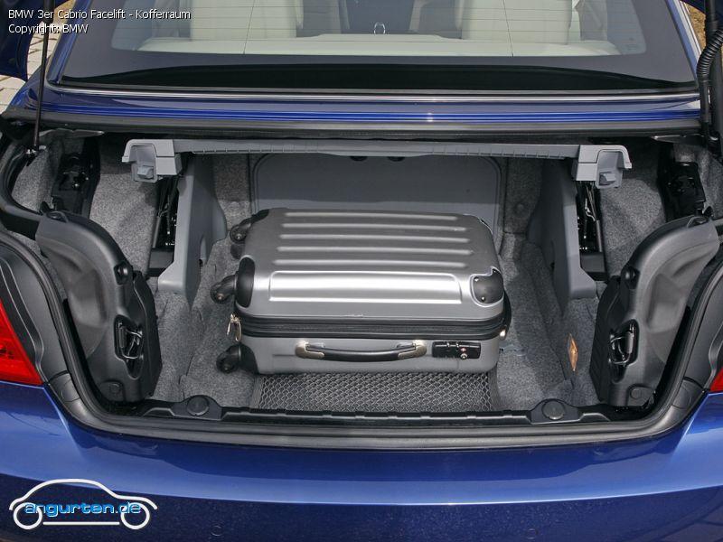 foto bild bmw 3er cabrio facelift kofferraum. Black Bedroom Furniture Sets. Home Design Ideas