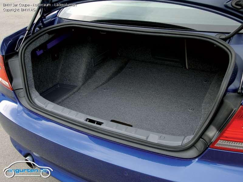 Foto Bild Bmw 3er Coupe Kofferraum Ladevolumen
