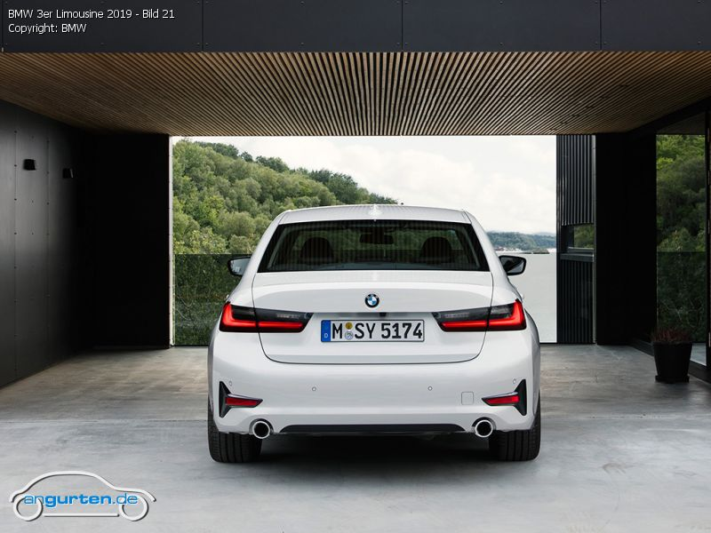 Audi A 3 Limousine >> BMW 3er Limousine (G20)- Fotos & Bilder