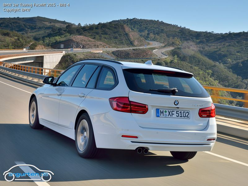 foto bild bmw 3er touring facelift 2015 bild 4. Black Bedroom Furniture Sets. Home Design Ideas