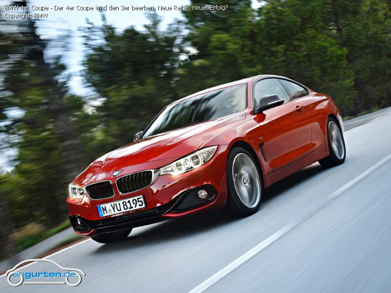 Bmw 4er Coupe Melbourne Rot Metallic Farben