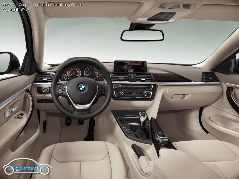Foto Bmw 4er Coupe Cockpit In Ausstattung Oyster