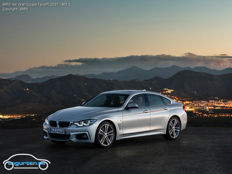 Foto BMW 4er Gran Coupe Facelift 2017 - Bild 1 - Bilder ...